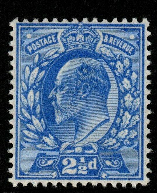 GB SGM16(4) 1902 2½d VERY DEEP BRIGHT ULTRAMARINE D.L.R. MNH