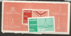 Brazil SC 907-8 Price Is For One Set Only MNH (1cza)