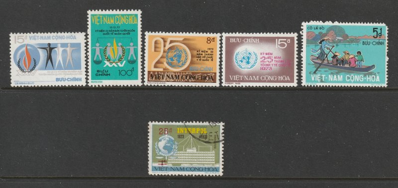 South VietNam a small lot of MNH from 1970's