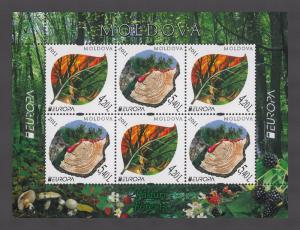 Moldova 2011 CEPT Europa Forests 6 MNH stamps Booklet