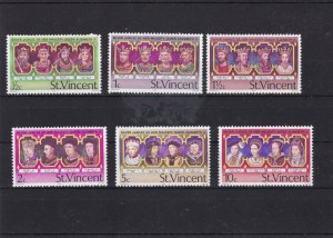 st vincent mint never hinged stamps ref 16713