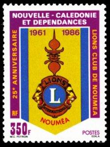 New Caledonia 1986 Scott #550 Mint Never Hinged