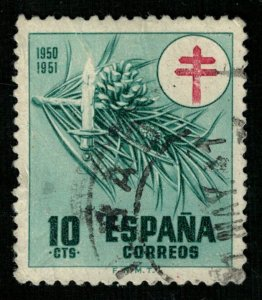 Spain, 10 cts, (2917-т)