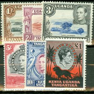 Kenya Uganda Tanganyika 66-85 mint mixed perfs CV $200.70