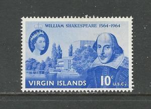 British Virgin Islands # 143 Unused HR