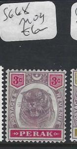 MALAYA PERAK  (P0502B) TIGER 3C  SG 68   MOG