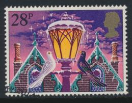 Great Britain  SG 1234 SC# 1038 Used / FU with First Day Cancel - Christmas 1983