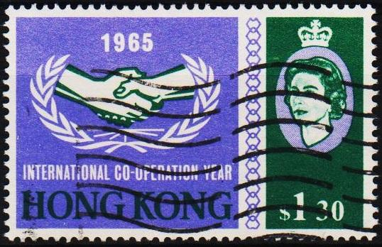 Hong Kong. 1965 $1.30 S.G.217 Fine Used