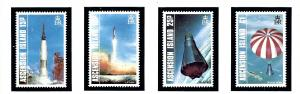 Ascension 420-23 MNH 1987 Space Flight Anniversary