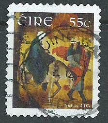 Eire  Ireland  SG 2095 FU  booklet self adhesive