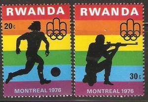 Rwanda MNH 1976 Olympics Montreal