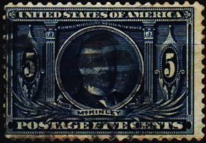U.S.A. 1904 5c S.G.333 Fine Used