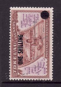 Tokelau-Sc#5-Unused NH set-1sh on 1/2p-1956-