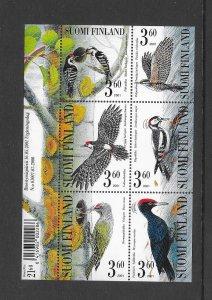 BIRDS - FINLAND #1156  MNH
