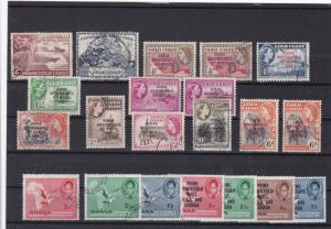 gold coast ghana mint and used stamps ref r8467