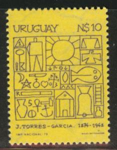 Uruguay Scott 1049 MNH** 1979 stamp