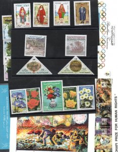 Excellent stamps and Postcards