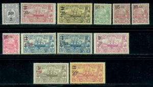 New Caledonia #124-135  Mint  Scott $34.90
