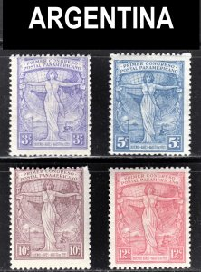 Argentina Scott 286-89 complete set F to VF mint OG H or HR.