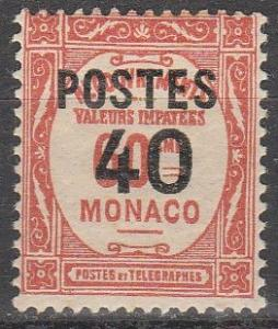 Monaco #137 F-VF Unused  (S7769)
