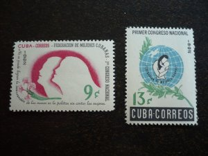 Stamps - Cuba - Scott#751-752 - MNH Set of 2 Stamps