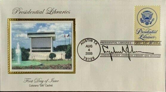 Colorano Silk 3930 Presidential Libraries Austin Texas Lyndon B. Johnson