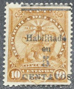DYNAMITE Stamps: Paraguay Scott #131  – UNUSED