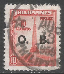 PHILIPPINES O51 VFU W444-2