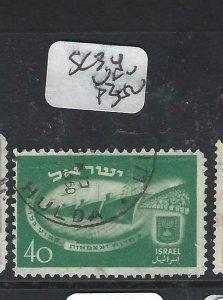 ISRAEL (P2506B) SC 34   VFU