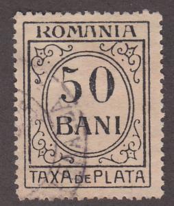 Romania J65 Postage Due 1920