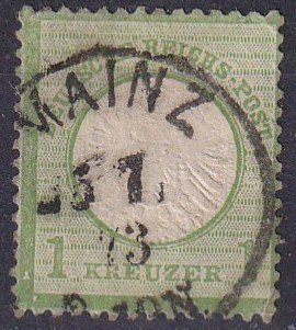 Germany #21 F-VF Used CV $32.50 (Z2856)