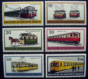 Germany, Berlin, Scott 9N305-9N310, MNH complete set