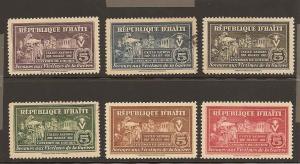 Haiti RA1-RA8 Mint Used VF H