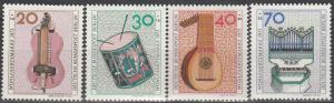 Germany #9NB101-4  MNH  CV $2.85  (S426)