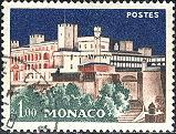 Monaco; 1960; Sc. # 478; O/Used Single Stamp