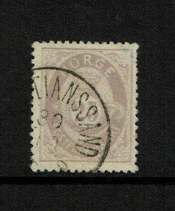 Norway SC# 28, Used - S9208