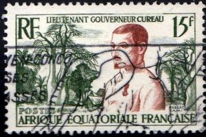 French Equatorial Africa #187 Millitary Medal Issue