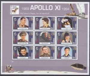1994 Gambia 1931-1939KL 25th Anniversary Of Apollo 11 9,50 €