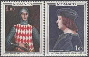 Monaco #674-5 MNH (S1503)