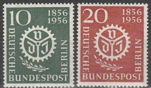 Germany #9N140-1 MNH CV $5.00   (S5634)