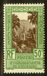 FRENCH POLYNESIA J13 MH SCV $1.40 BIN .65 NATURE
