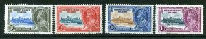 Gilbert and Ellice Islands SG36/39 1935 Silver Jubilee Set Used
