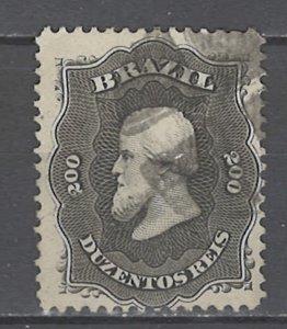 COLLECTION LOT # 4555 BRAZIL #59 1866 CV+$12