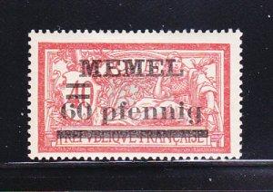 Memel 39 MH Surcharge