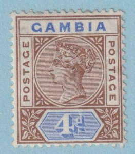 GAMBIA 25  MINT HINGED OG * NO FAULTS VERY FINE !