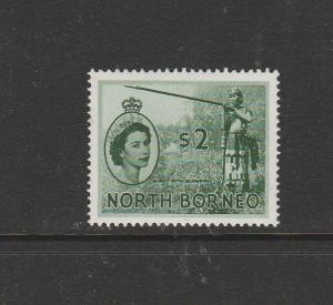 North Borneo 1954/9 Def $2 LMM