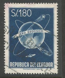 ECUADOR 650 VFU Z6911-2