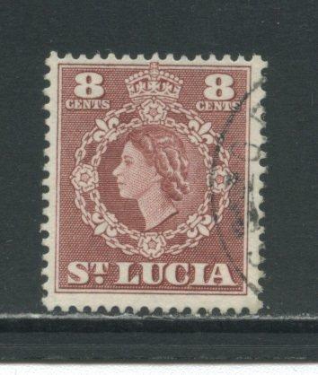 St. Lucia 163  Used cgs