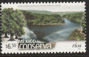 MEXICO CONSERVA 2459, $6.50P RIVERS. MINT, NH. VF.