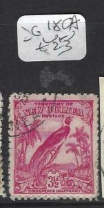 NEW GUINEA  (PP0304B)  BIRDS  NO DATES  3 1/2D  SG  180A   VFU